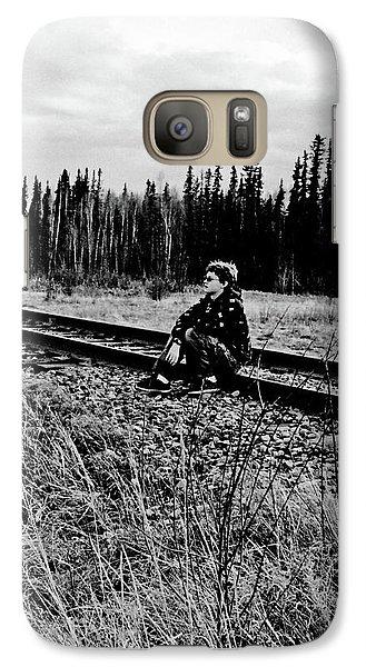 Galaxy Case featuring the photograph Tough Times by Tara Lynn