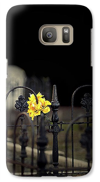 Galaxy Case featuring the photograph Toujours Souvenu by Marion Cullen