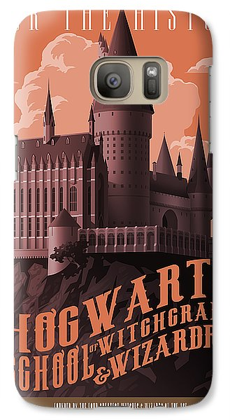 Wizard Galaxy S7 Case - Tour Hogwarts Castle by Christopher Ables