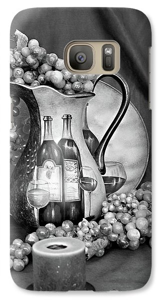 Galaxy Case featuring the photograph Tour Of Italy In Black And White by Sherry Hallemeier