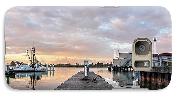 Galaxy Case featuring the photograph Toward The Dusk by Greg Nyquist