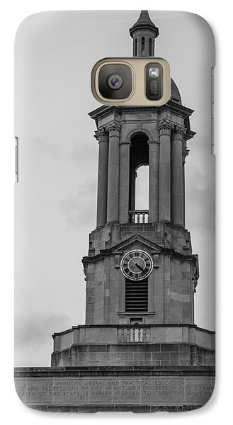 Tower At Old Main Penn State Galaxy Case by John McGraw