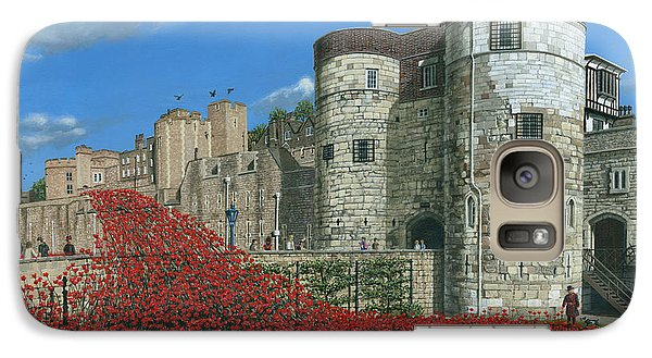 Tower Of London Poppies - Blood Swept Lands And Seas Of Red  Galaxy S7 Case