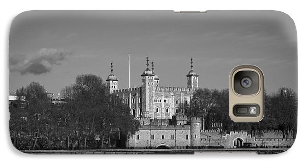 Tower Of London Riverside Galaxy S7 Case by Gary Eason