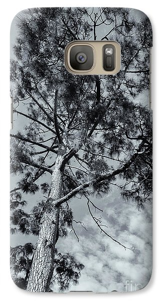 Galaxy Case featuring the photograph Towering by Linda Lees