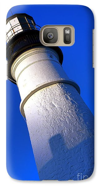 Galaxy Case featuring the photograph Towering Portland Head Light by Olivier Le Queinec