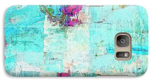 Galaxy Case featuring the painting Towers by Dominic Piperata