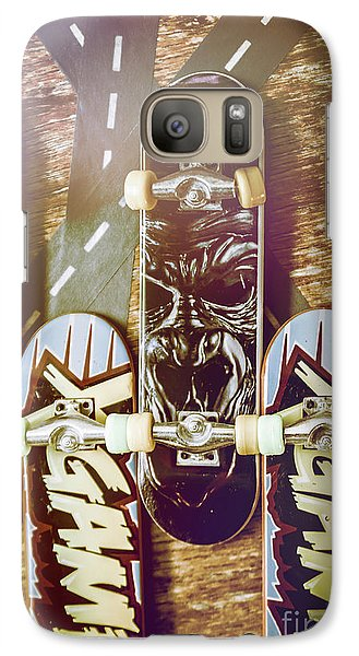 Truck Galaxy S7 Case - Toy Skateboards by Jorgo Photography - Wall Art Gallery