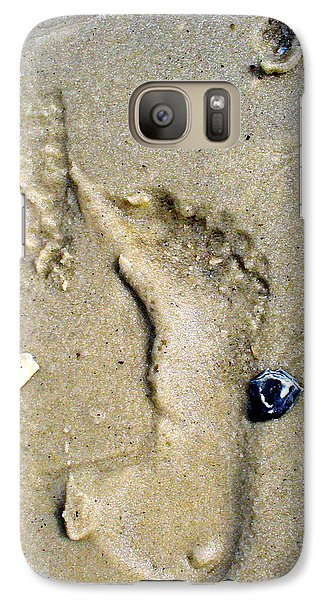 Galaxy Case featuring the photograph Traces by Mary Sullivan