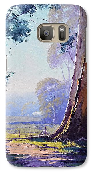 Track To The Farm Galaxy S7 Case