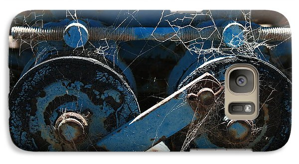 Galaxy Case featuring the photograph Tractor Engine IIi by Stephen Mitchell