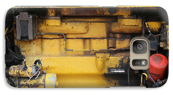 Galaxy Case featuring the photograph Tractor Engine Iv by Stephen Mitchell