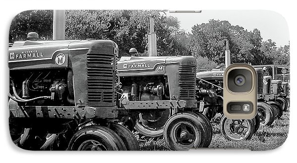 Galaxy Case featuring the photograph Tractors by Brian Jones