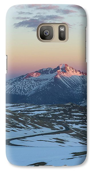 Galaxy Case featuring the photograph Trail Ridge Road Vertical by Aaron Spong