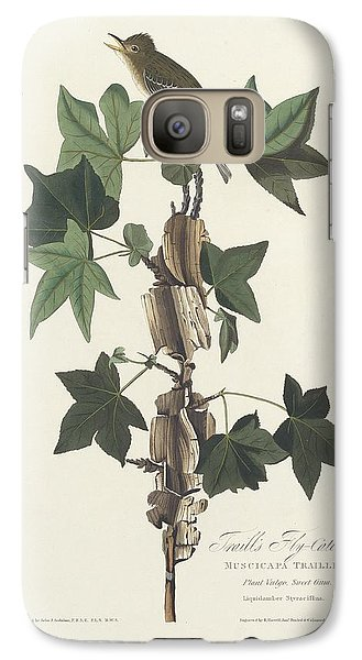 Flycatcher Galaxy S7 Case - Traill's Flycatcher by Dreyer Wildlife Print Collections