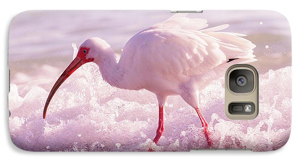 Ibis Galaxy S7 Case - Tranquil Beauty Cortez Beach by Betsy Knapp