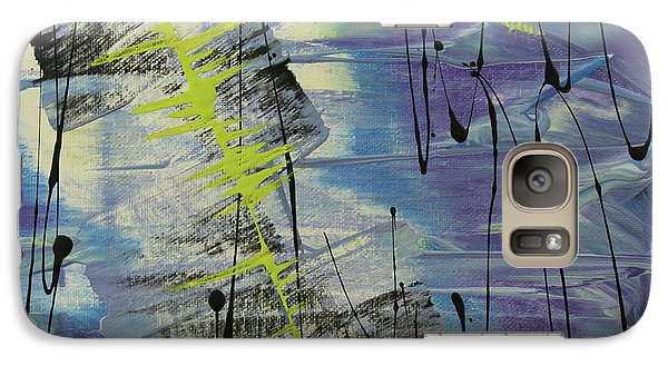 Galaxy Case featuring the painting Tranquil Dream I by Cathy Beharriell