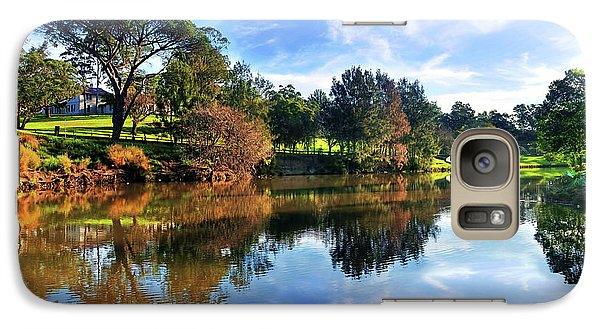 Tranquil River 2 By Kaye Menner Galaxy S7 Case by Kaye Menner