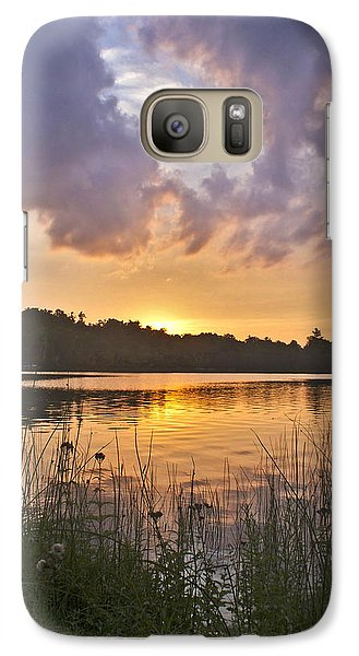 Tranquil Sunset On The Lake Galaxy S7 Case by Gary Eason