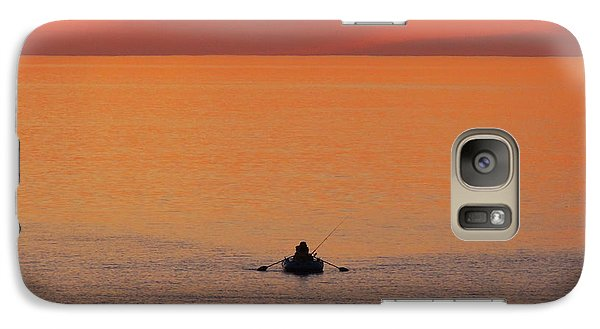 Galaxy Case featuring the photograph Tranquililty by Linda Hollis