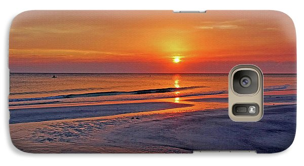 Galaxy Case featuring the photograph Tranquility - Florida Sunset by HH Photography of Florida