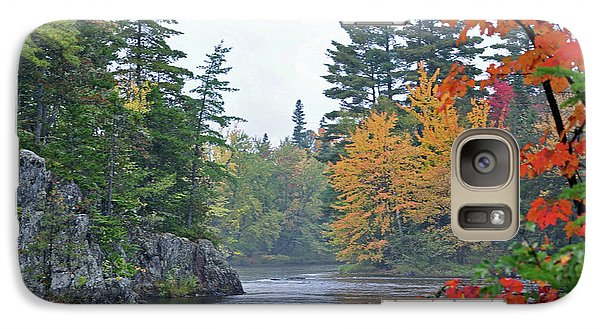 Galaxy Case featuring the photograph Autumn Tranquility by Glenn Gordon