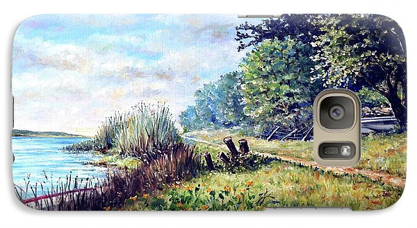 Galaxy Case featuring the painting Tranquility by Heidi Kriel