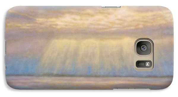 Galaxy Case featuring the painting Tranquility by Joe Bergholm