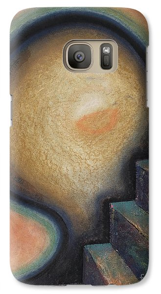 Galaxy Case featuring the painting Transcendence by Mini Arora