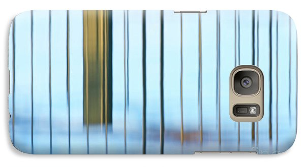 Galaxy Case featuring the photograph Transcendental... by Nina Stavlund