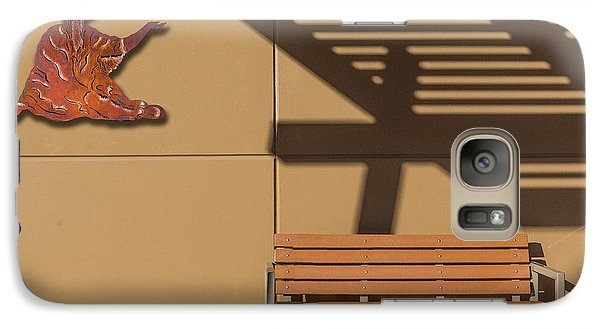 Galaxy Case featuring the photograph Transcendental by Paul Wear