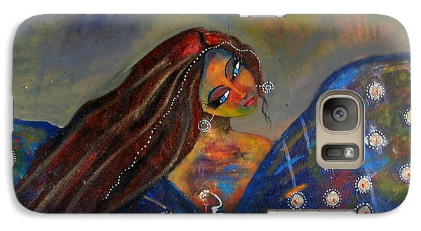 Galaxy Case featuring the painting Transform by Prerna Poojara