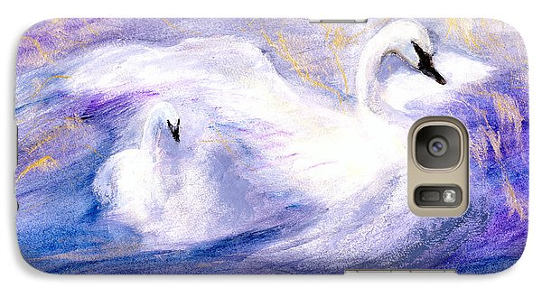 Galaxy Case featuring the painting Transformation by Gail Kirtz