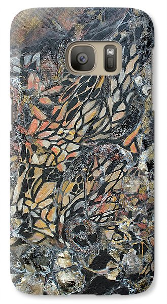 Galaxy Case featuring the mixed media Transformation by Joanne Smoley