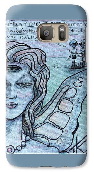 Galaxy Case featuring the drawing Transformation by Similar Alien