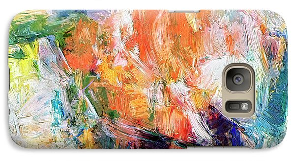 Galaxy Case featuring the painting Transformer by Dominic Piperata