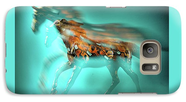 Galaxy Case featuring the photograph Transparent by Tom Druin