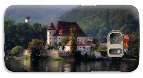 Galaxy Case featuring the photograph Traunkirchen - Austria by Ellen Heaverlo