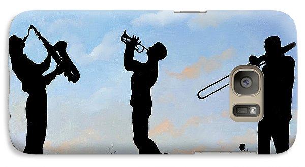 Trumpet Galaxy S7 Case - tre by Guido Borelli