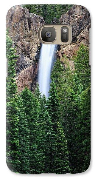Treasure Falls Galaxy S7 Case by David Chandler