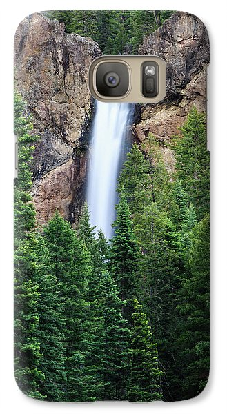 Galaxy Case featuring the photograph Treasure Falls by David Chandler
