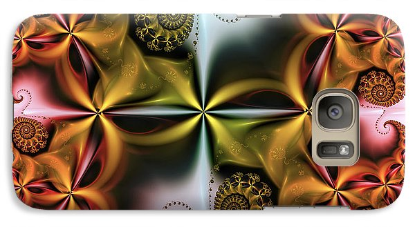 Galaxy Case featuring the digital art Treasure by Karin Kuhlmann