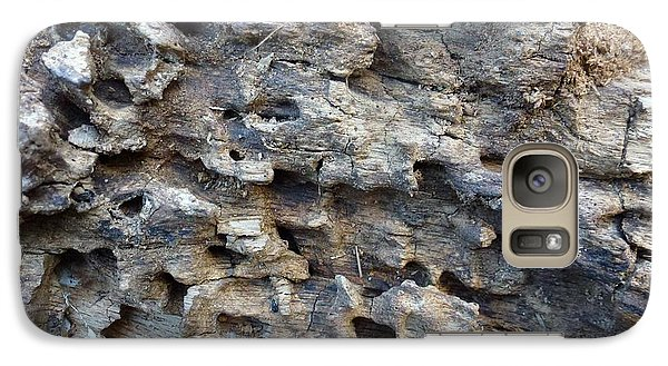 Galaxy Case featuring the photograph Tree Bark 1 by Jean Bernard Roussilhe