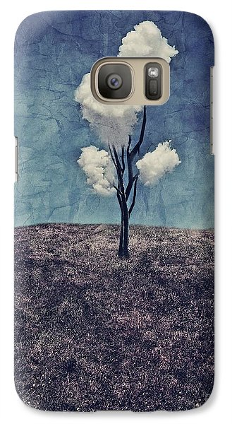 Galaxy S7 Case - Tree Clouds 01d2 by Aimelle