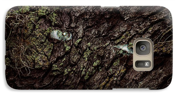 Galaxy Case featuring the photograph Tree Eyes by Randy Sylvia