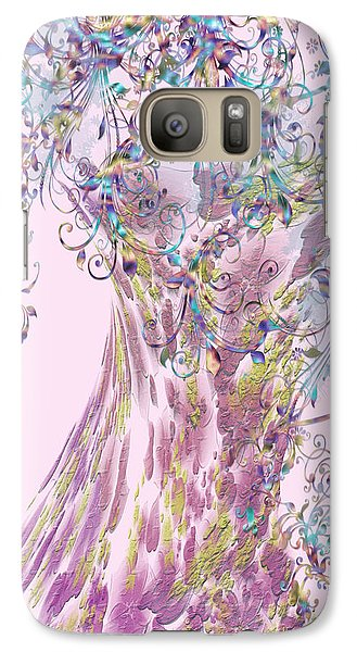 Galaxy Case featuring the digital art Tree Fancy by Katy Breen