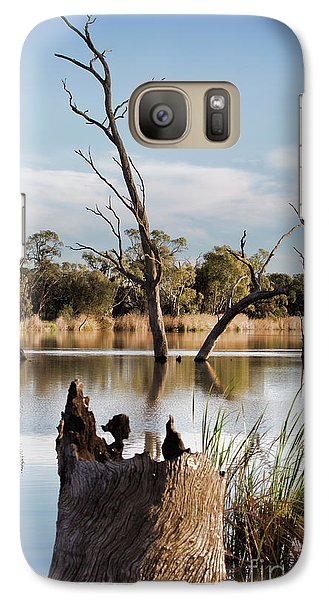 Galaxy Case featuring the photograph Tree Image by Douglas Barnard