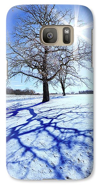 Galaxy Case featuring the photograph Tree Light by Phil Koch