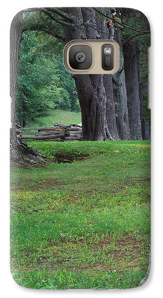 Galaxy Case featuring the photograph Tree Line by Eric Liller