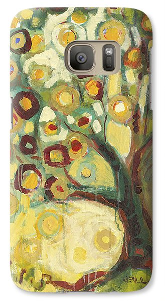 Abstract Galaxy S7 Case - Tree Of Life In Autumn by Jennifer Lommers